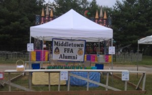 Middletown FFA Booth at Middletown Carnival